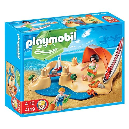 Playmobil Beach Holiday Compact Set