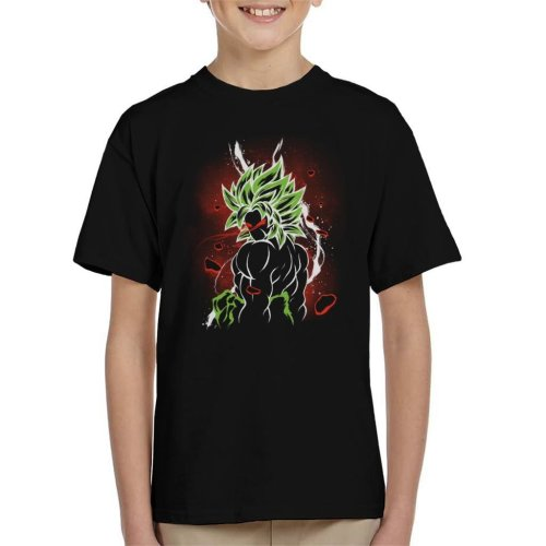 Dragon Ball Z Beserk Red Eyes Kid's T-Shirt