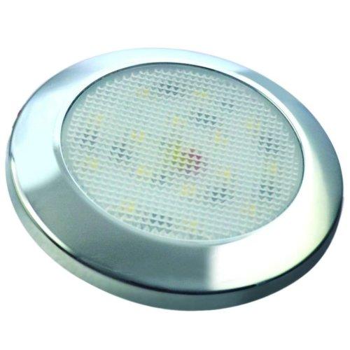 LED Autolamps LED Interior Lamp Cold Light Chrome 7515C