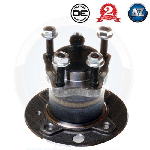 For Vauxhall Astra Mk5 1.3 1.4 1.6 1.7 4 stud Rear Wheel Bearing Hub kit + ABS