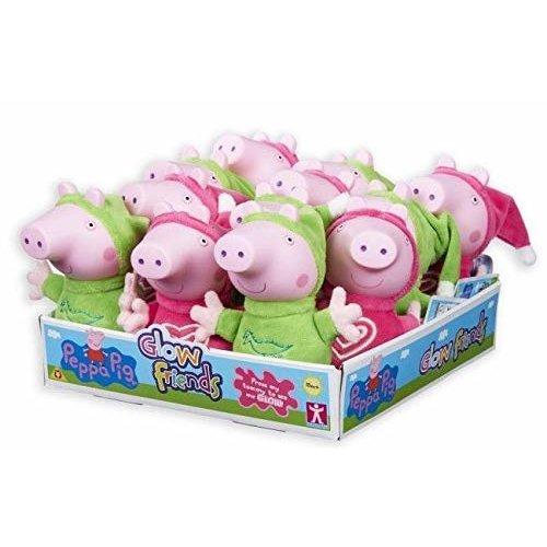 Peppa Pig Glow Friends Plush George Pig