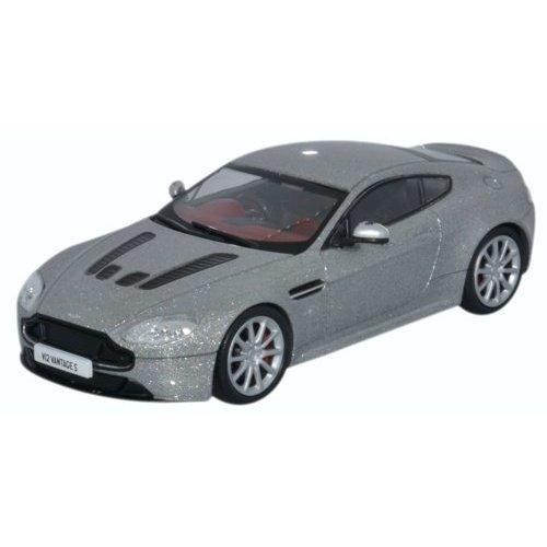 Oxford Diecast Amvt002 Aston Martin V12 Vantage S Lightning Silver