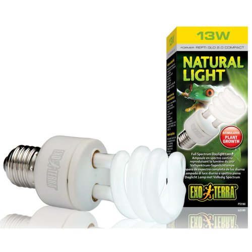 Exo Terra Natural Light Full Spectrum Daylight Bulb 13w