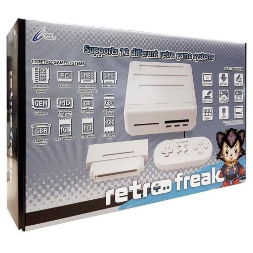 Retro Freak 12-1 Retro Games Console - Standard Edition Cyber Gadget