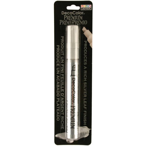 DecoColor Premium Chisel Paint Marker-Silver
