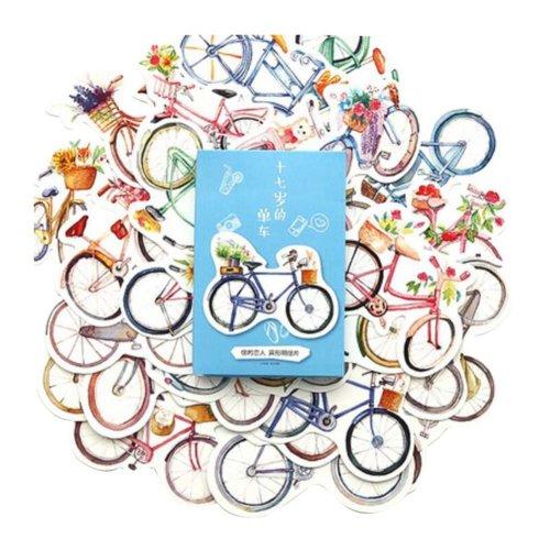 Beautiful Postcard Creative Postcard Colorful Postcard, Bicycle
