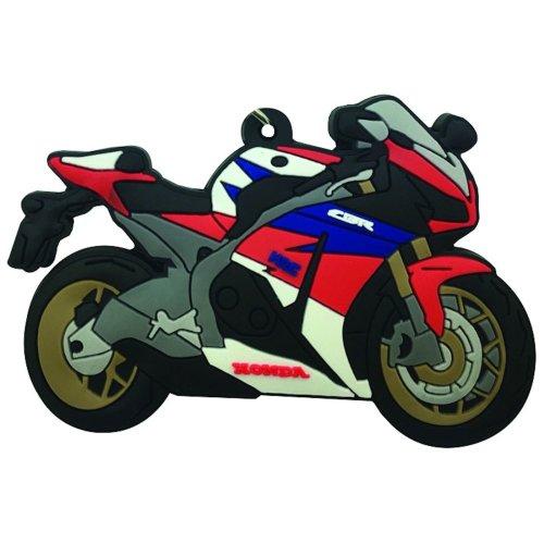 honda CBR 1000 RR rubber key ring motor bike cycle gift chain keyring