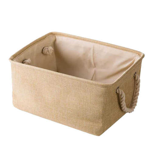 36*26*16 cm, Linen Storage Basket Useful Household Storage Containers/Box