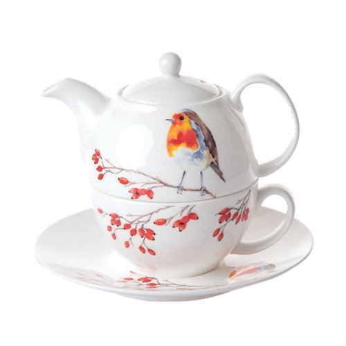 Roy Kirkham Tea for One Set Robin