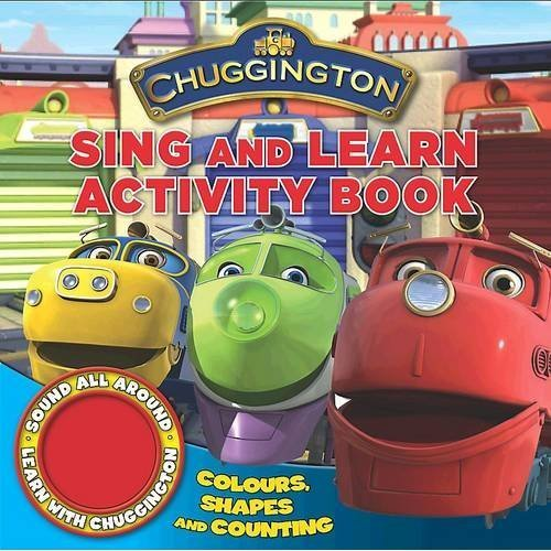 Chuggington Single Sound Shaped Book Sing and Learn Numbers, Shapes and Colours