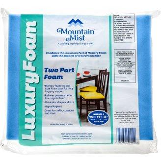 "Mountain Mist Luxury Foam Cushion-15""X17""X3"" Fob: Mi"