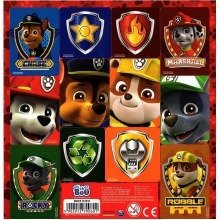 Paw Patrol Red Sticker Sheet