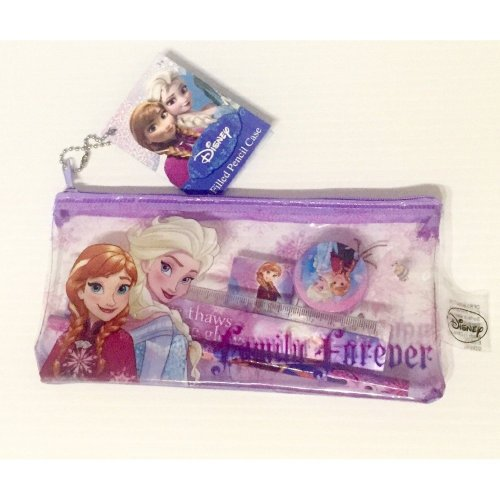 Frozen Filled Pencil Case - 5 Items