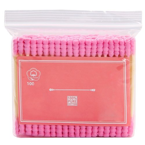 100 PCS Safety Cotton Swabs Double Tipped Cotton Buds Multipurpose Cleaning Sticks #26