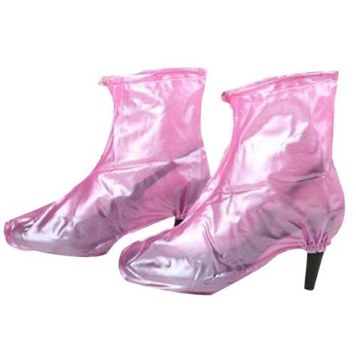 Rain Shoe Cover  Non-slip Wear  Shoe Cover Waterproof [Pink02]