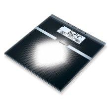 Beurer Analysis Bathroom Scales BG21 Glass Black 764.30