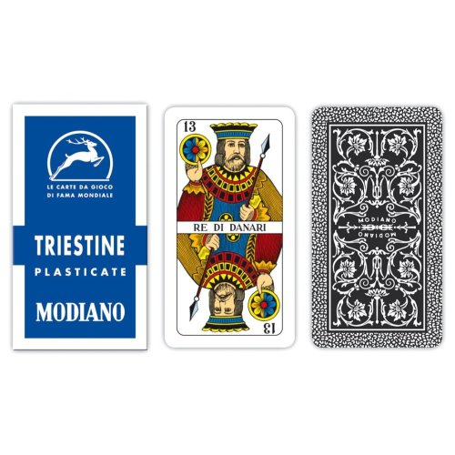 Modiano Regional Triestine 99/25 – Playing Cards