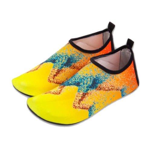 Violet Fashionable Diving Socks Portable Swimming Socks Beach Socks