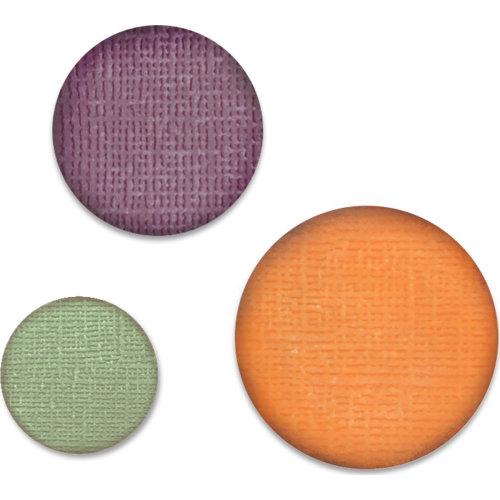 """Sizzix Paper Punch Bundle-Circles, .75"""", 1"""", 1.25"""""""