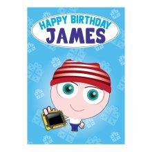 Birthday Card - James