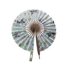 Creative Windmill Round Folding Fan Summer Fan
