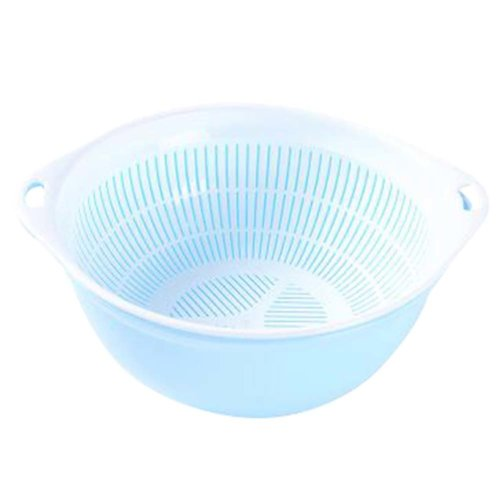 Multifunction Living Room Fruit-Plate Kitchen Vegetable Plate Drain Basket #09