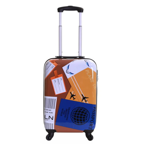 Karabar Falla Cabin 55 cm Hard Suitcase, World Travel