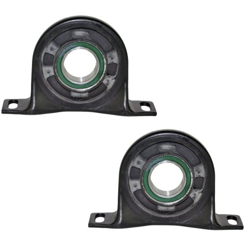 FOR VW CRAFTER 2006-2016 PROPSHAFT CENTRE BEARING MOUNT SUPPORT (PAIR) 2E0598351