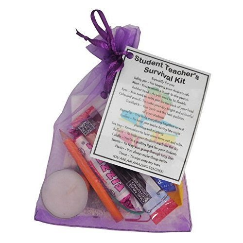 Student Teacher Survival Kit Teacher Gift  - Student Teacher gift for Christmas, Srudent Teacher Secret Santa, funny student teacher gifts, thank you