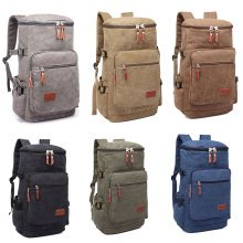KONO Outdoor Hiking Canvas Backpack Rucksack