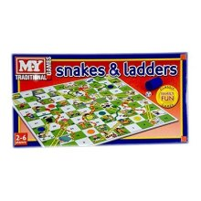Snakes and Ladders Board Game Traditional Children Games