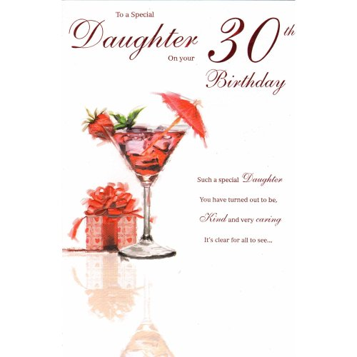 Daughter On Your 30th Birthday Card OnBuy