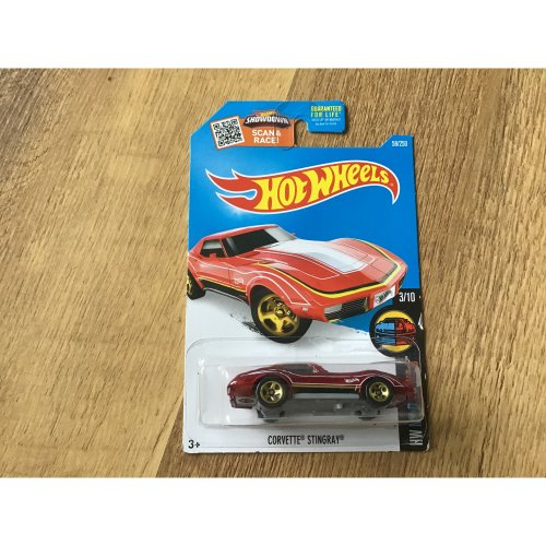 Hot Wheels 2016 HW Mild to Wild Corvette Stingray #58