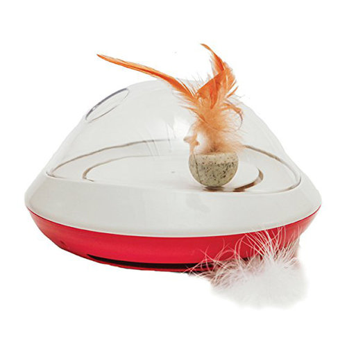 Rosewood Jolly Moggy Feather Chase Cat Toy