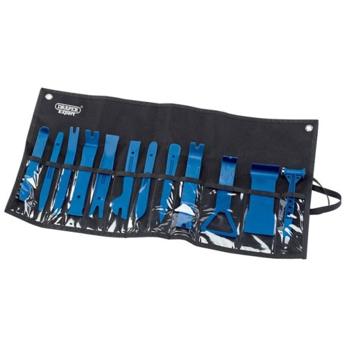 Draper Tools Expert 12 Piece Trim Removal Kit Blue 22492