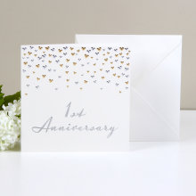 Amore Deluxe Card - 1st Anniversary