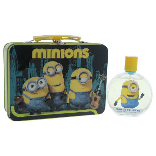 Minions Minions - 2 Pc Gift Set 3.4oz EDT Spray, With Metal Box