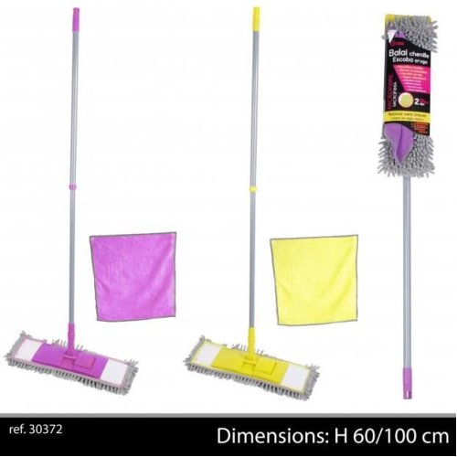 Microfibre Mop With Free Microfibre Cloth 30X30