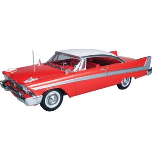 AMT AMT801 1:25 Scale 1958 Plymouth Fury Christine Red Plastic Model Kit