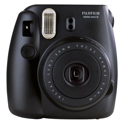 Fujifilm Instax Mini 8 Instant Compact Camera Built In Flash Black