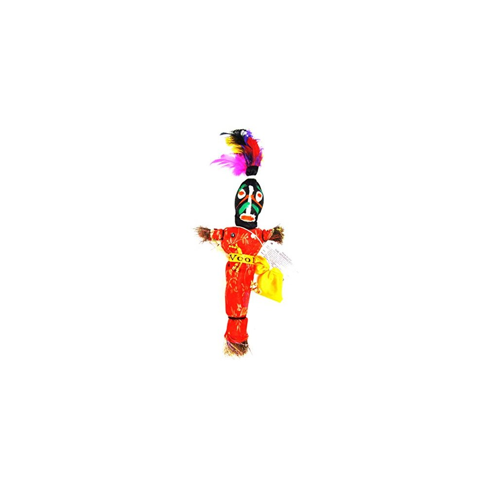 Voodoo Doll Black Good Luck Power Money WEALTH PROSPER Revenge