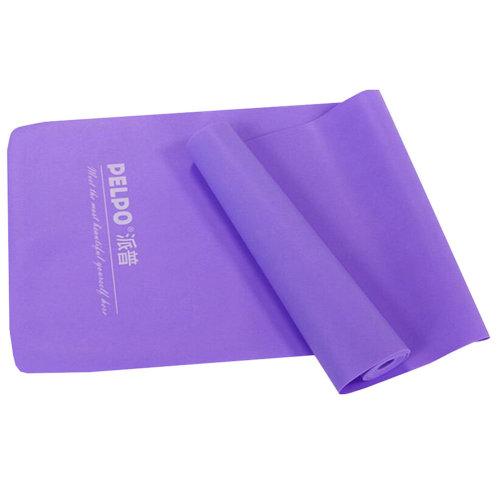 Natural Material Plastic Thin Yoga Belt Exercise Belt-Violet
