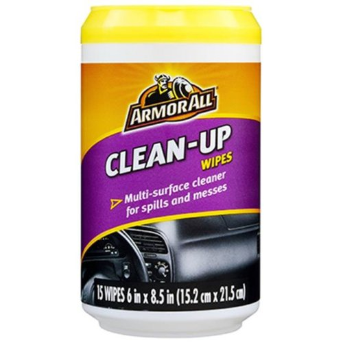 Armored 17216 Clean-Up Wipes, 15 Count