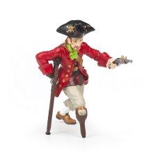 Papo Wooden Leg Pirate With Gun Figurine - Pirates 39467 Knights Corsairs Model -  papo wooden leg pirate pirates 39467 knights corsairs model w5