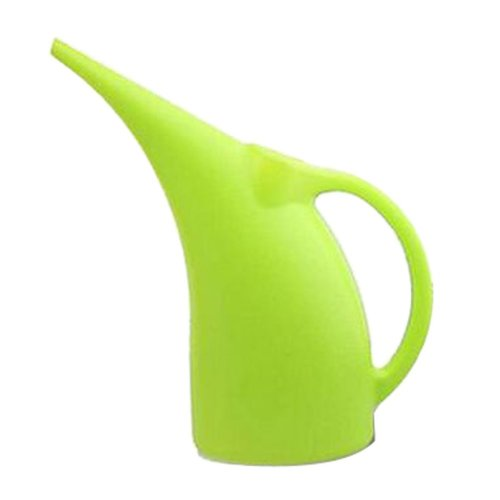 Plastic Colorful Watering Pot Watering Can Gardening Tools Green