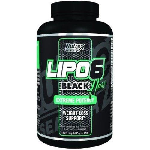 Nutrex  Lipo-6 Black Hers - 120 liquid caps