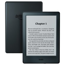 "Kindle E-Reader 6"" Glare-Free Touchscreen Wi-Fi (Black) - Thinner and Lighter"