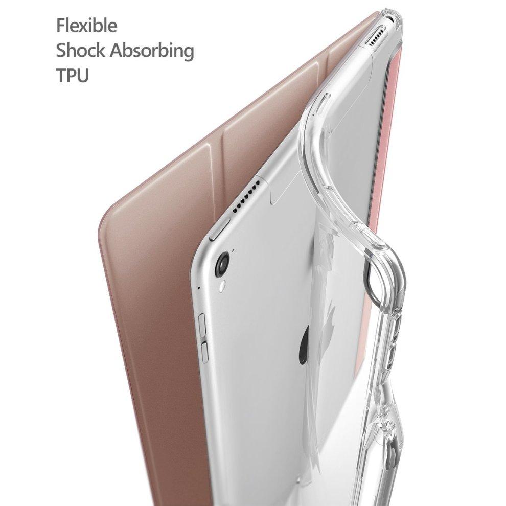 new style e5f51 c0d49 Poetic iPad Pro 10.5 Case, Lumos X Flexible Soft Transparent Ultra-Thin TPU  Slim-Fit Trifold Stand Folio Smart Cover Case [Auto Wake/Sleep][Pencil...