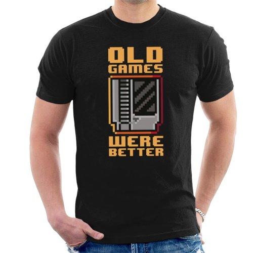 Old Games Were Better Men's T-Shirt