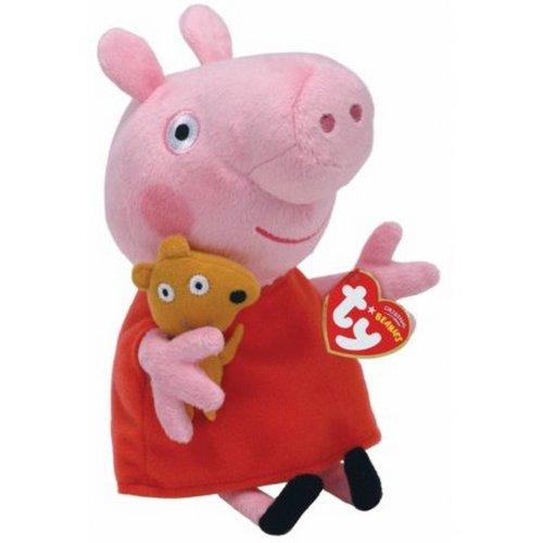 TY Peppa Pig Beanie Soft Toy